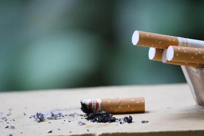 喫煙がきっかけとなる事も
